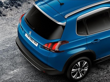 PEUGEOT 2008 SUV: spacious, functional & easy to access boot
