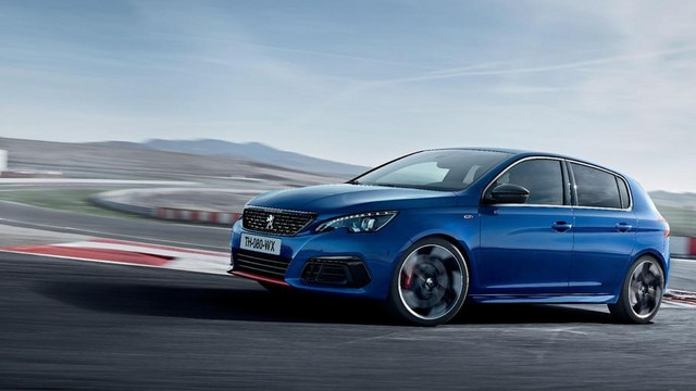 PEUGEOT 308 GTi - sporty front panel