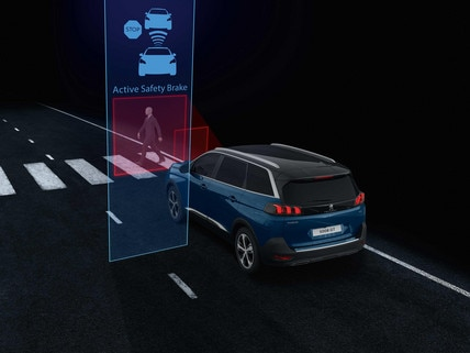New PEUGEOT 5008 SUV, Night Vision Technology