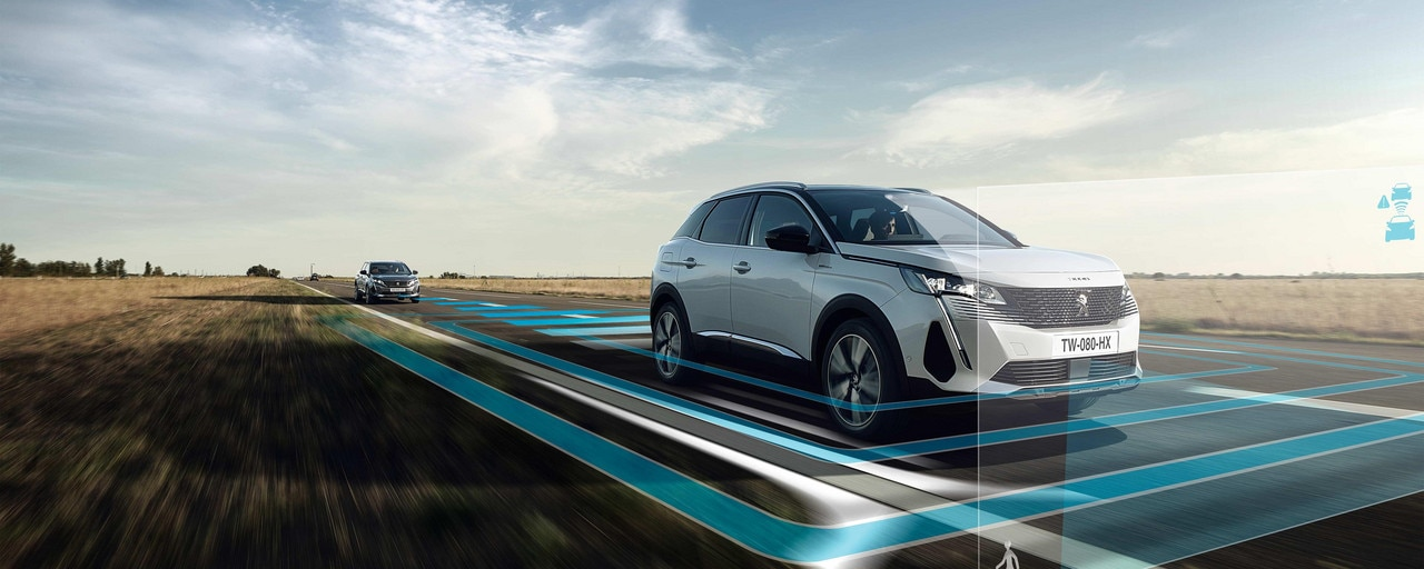 New PEUGEOT 3008 SUV - Latest-generation driving aids