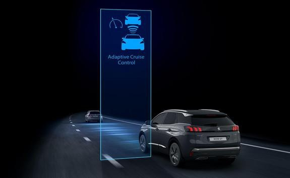 New PEUGEOT 3008 SUV - Adaptive cruise control with Stop function