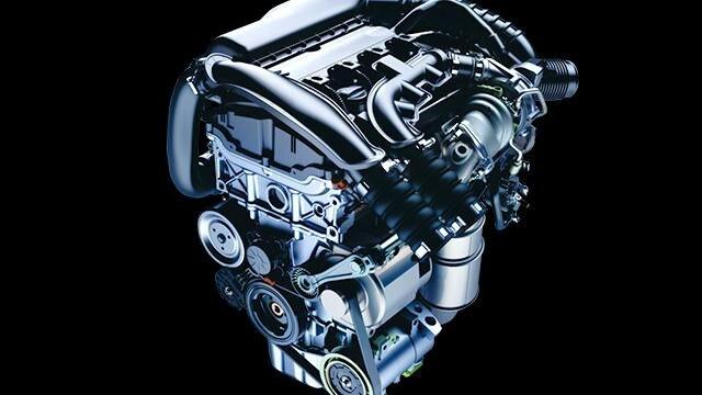 1.6L ツインスクロールターボエンジン